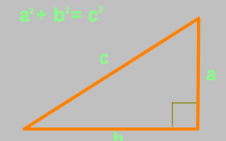 Как проверить прямой угол между стенами