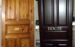 Покраска дверей в квартире своими руками