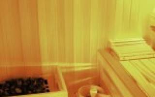 Чем покрыть стены в бане внутри