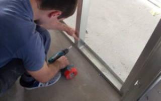 Как сделать съемную стенку из гипсокартона