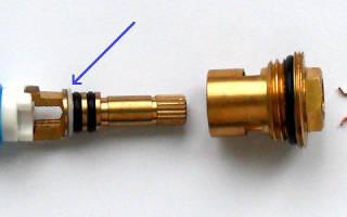 Смеситель с полуоборотной керамической кран буксой